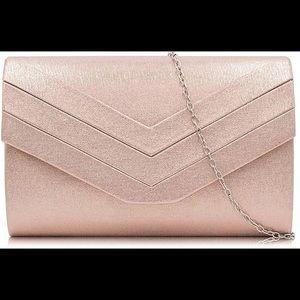 Evening bag - rose gold